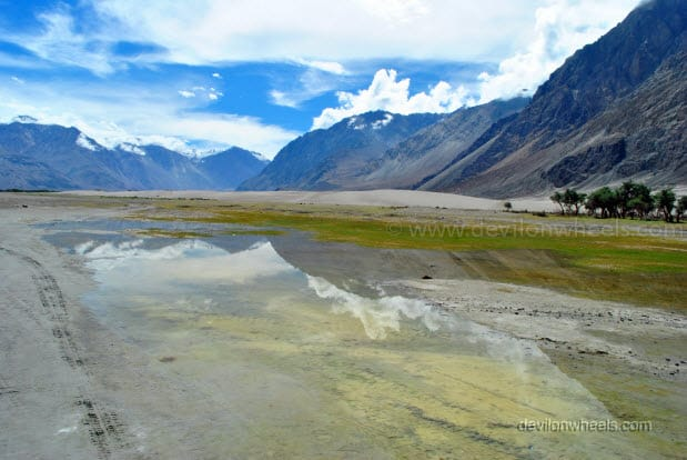 Sand dunes of Hunder, Nubra Valley in Leh - Ladakh