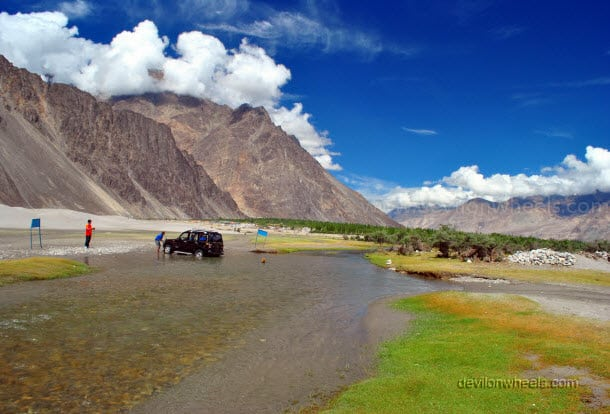 Hunder, Nubra Valley in Leh - Ladakh