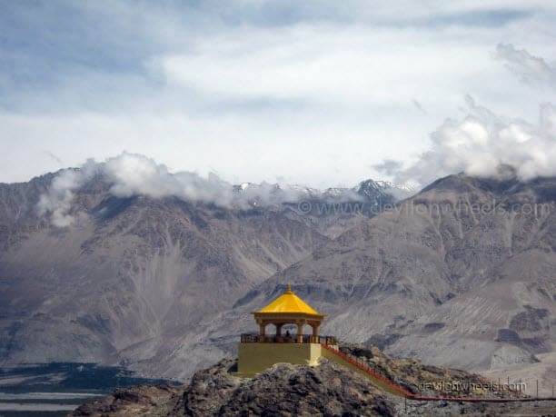 Views from Diskit monastery, Nubra Valley of Leh - Ladakh