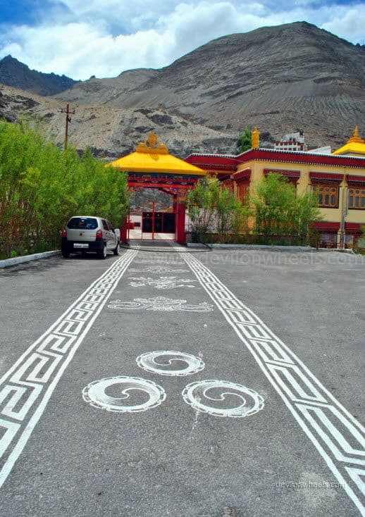 Diskit monastery, Nubra Valley of Leh - Ladakh