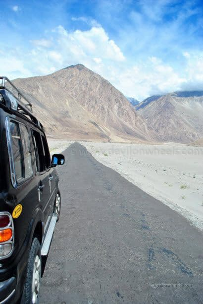 Views in Nubra Valley in Leh - Ladakh