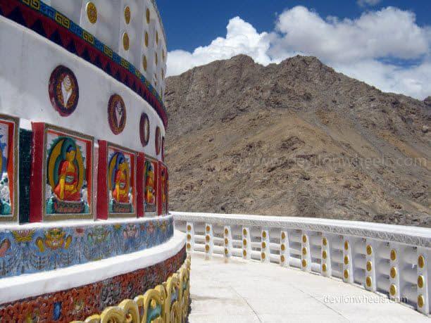 Shanti Stupa in Leh - Ladakh