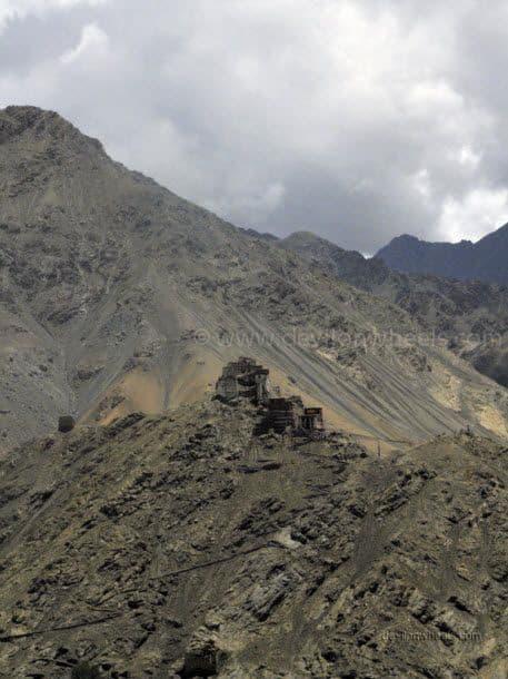 Views from Shanti Stupa in Leh - Ladakh