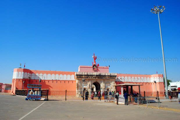 Karni Devi Temple at Deshnok, Bikaner