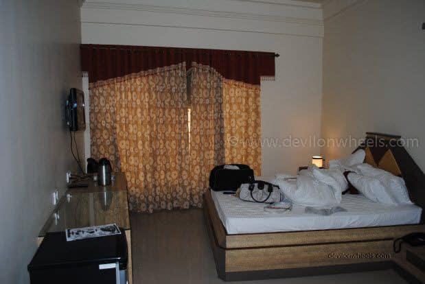 Hotel room at Bikaner