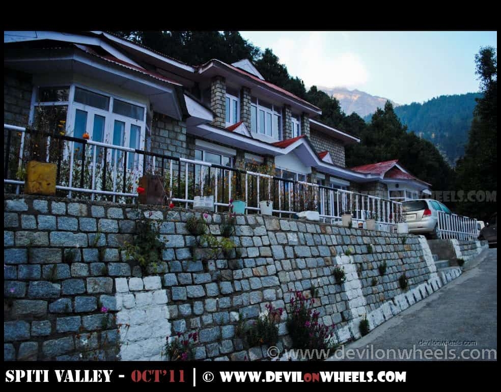 PWD Rest House at Ribba, Kinnaur Valley