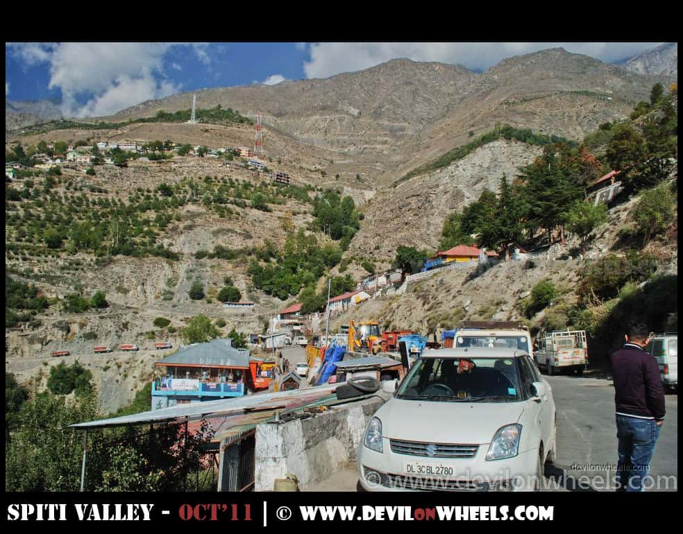 Puh Village in Kinnaur Valley