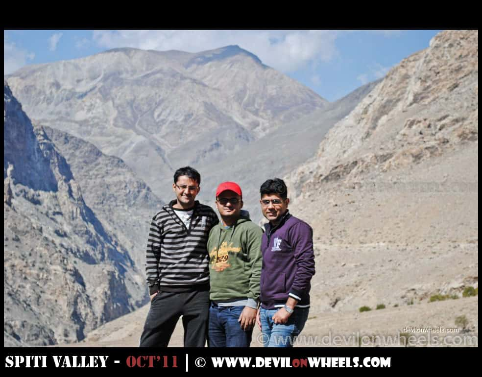 Dheeraj Sharma on Hindustan Tibet Highway