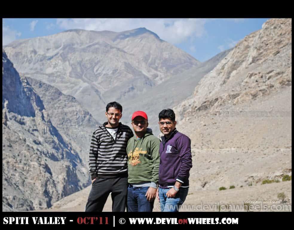 Dheeraj Sharma on Hindustan Tibet Highway