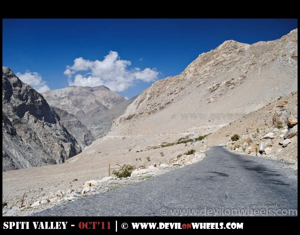 Views of Kah Loops on Hindustan Tibet Highway
