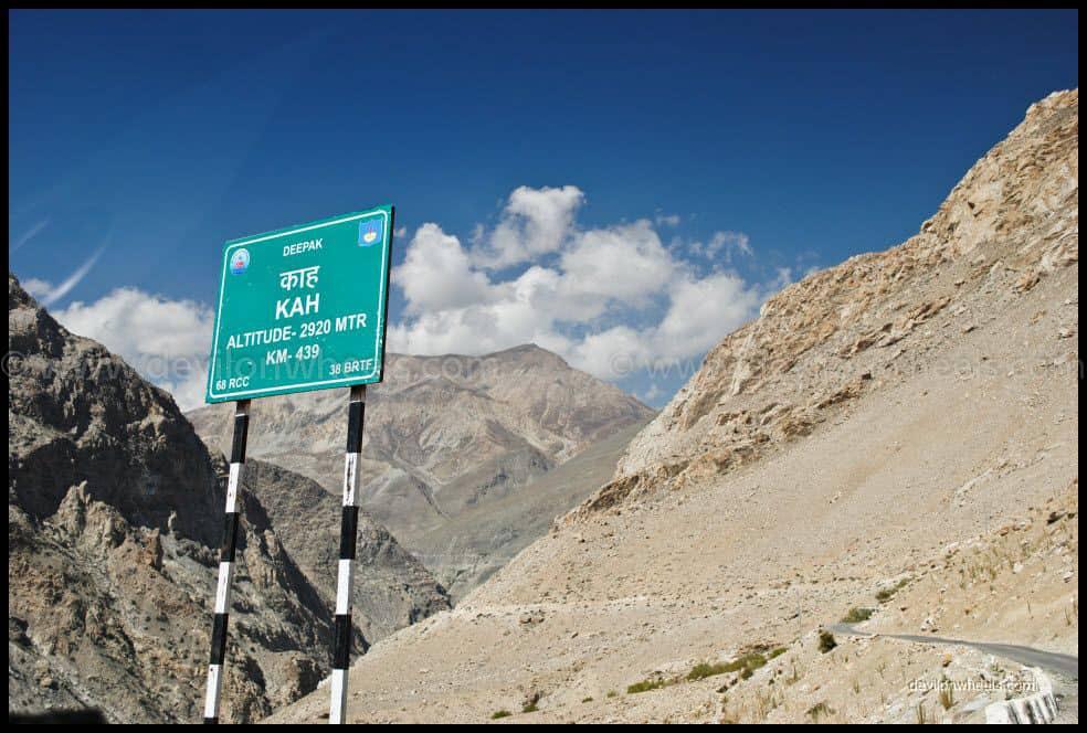Views of Kah Loops on Hindustan Tibet Highway