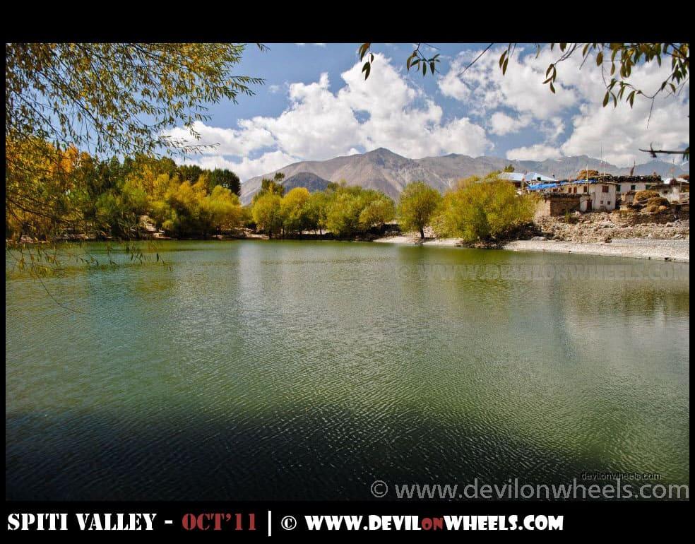 Nako Lake in Kinnaur Valley