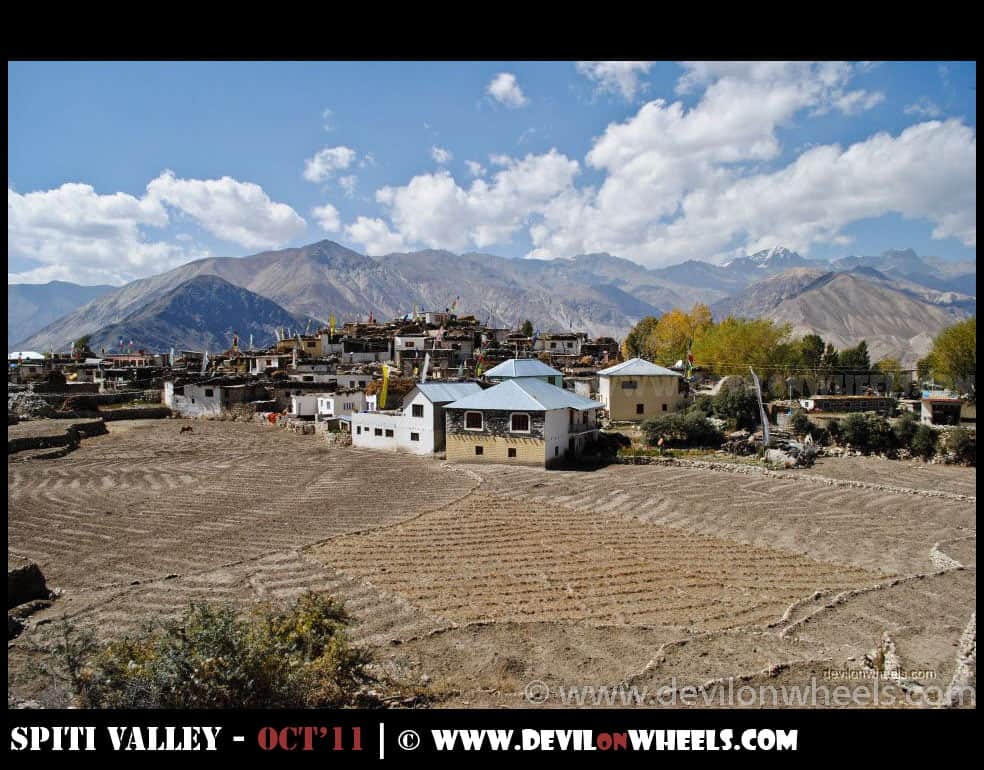 Nako Village in Kinnaur Valley