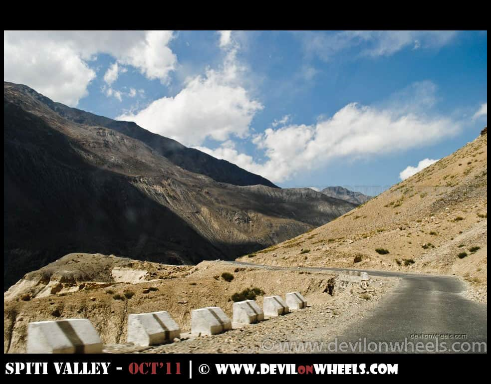 Views at Hindustan Tibet Road between Nako and Tabo