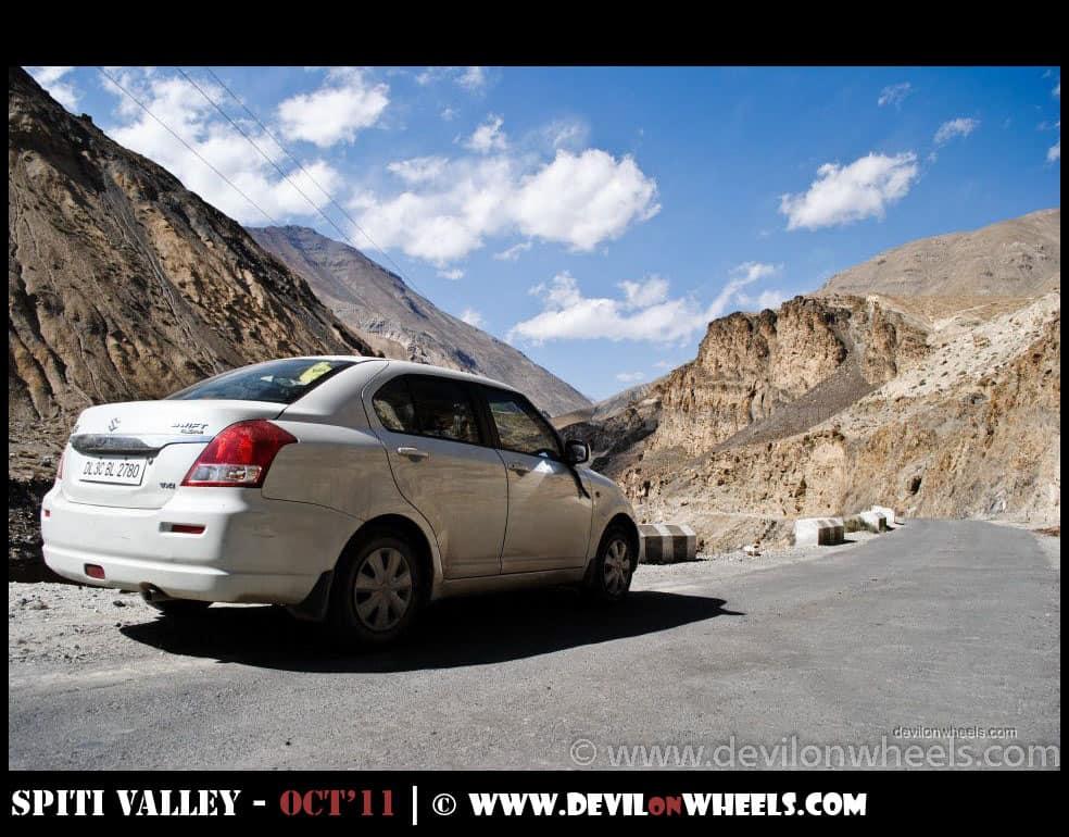 Views at Hindustan Tibet Road between Nako and Tabo