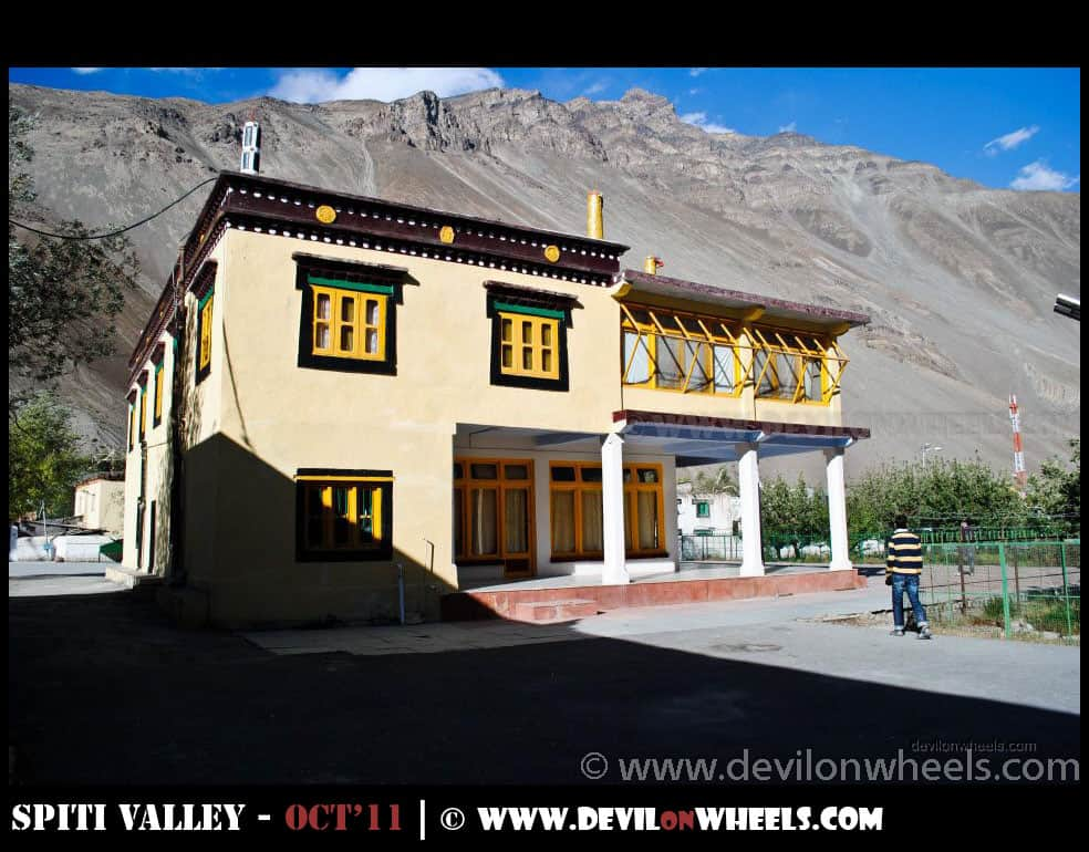 Tabo Monastery at Tabo Village
