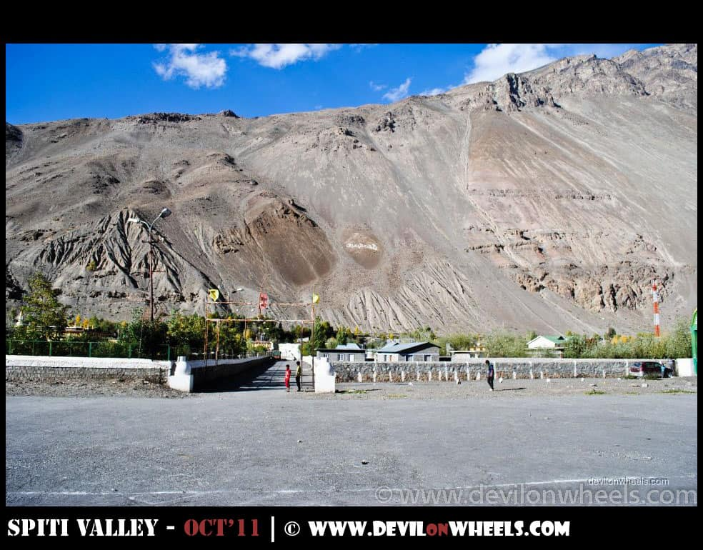 Views at Tabo Village from Tabo Helipad
