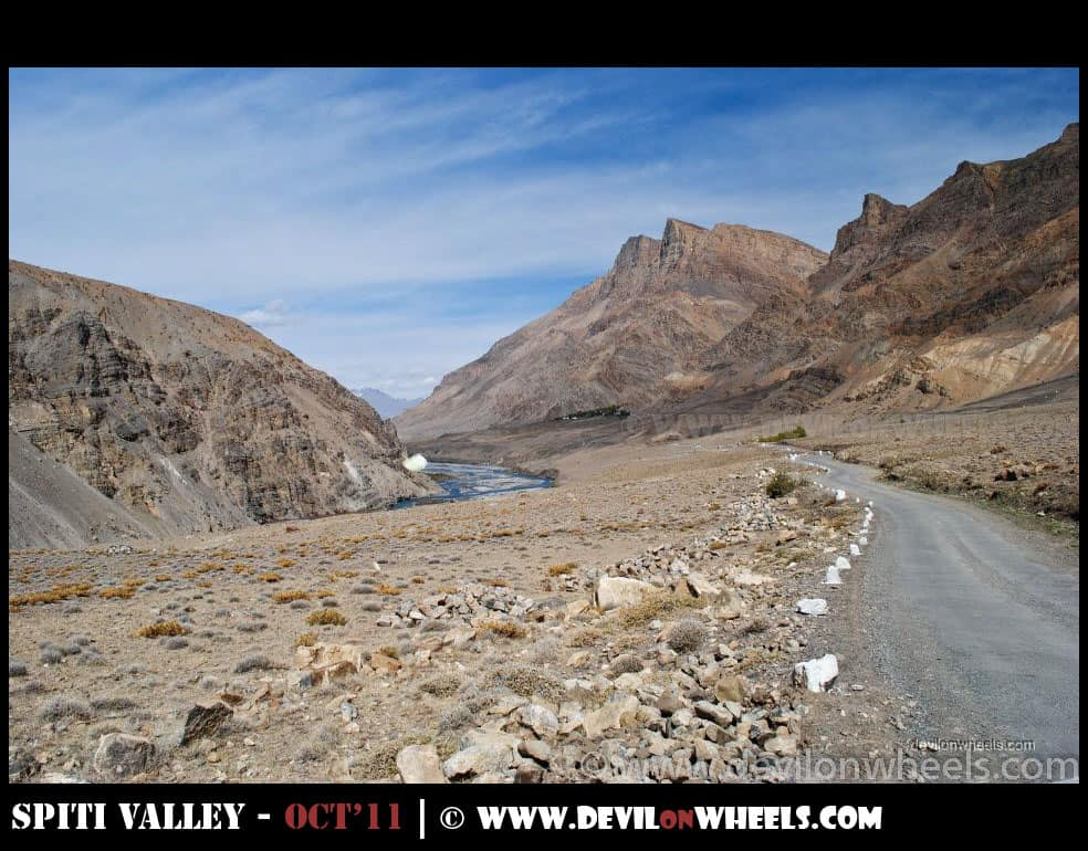 Views between Kaza and Pin Valley