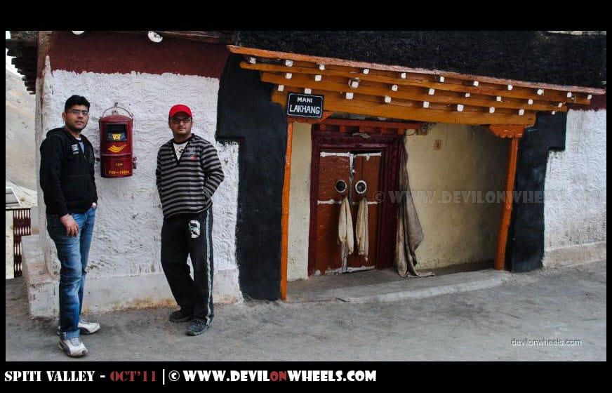 Postbox at Ki Monastery