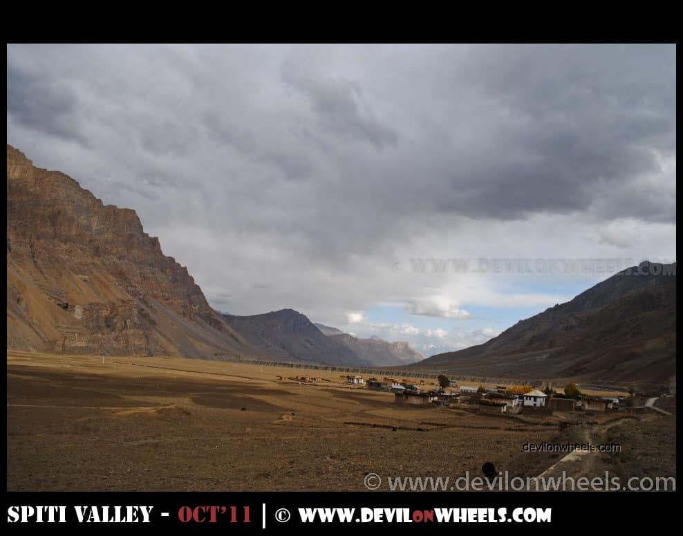 Views between Kaza and Losar