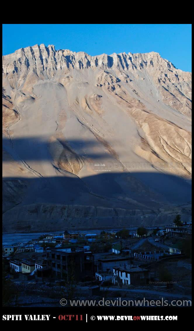 Morning views of Kaza Town