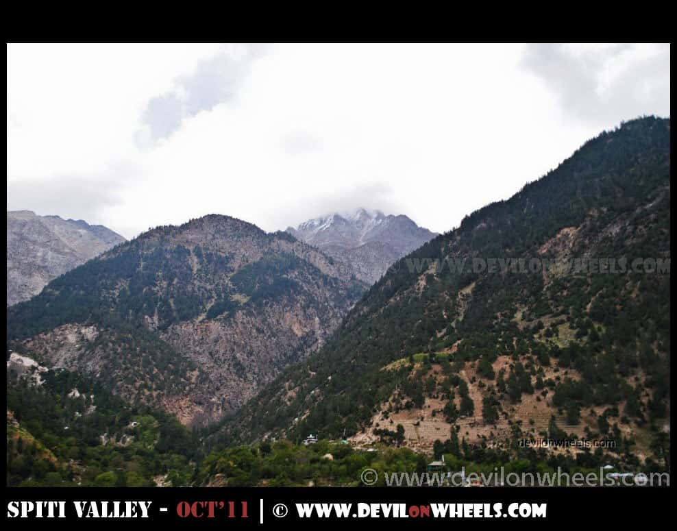 Somewhere in Kinnaur Valley
