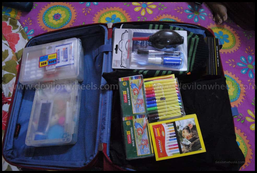 Things Packed for Spiti Valley Trip