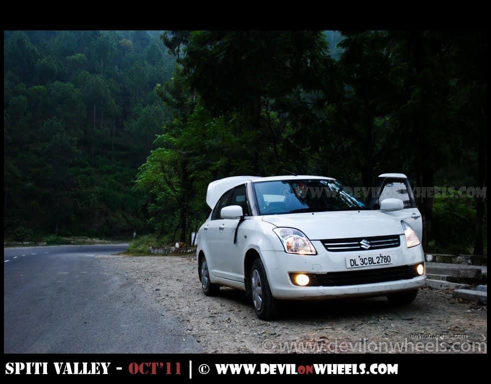 Drive from Delhi to Shimla
