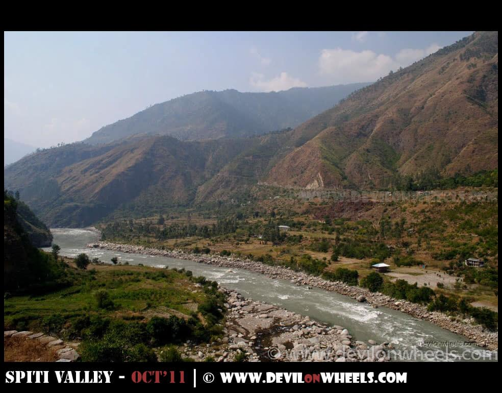 The River Satluj