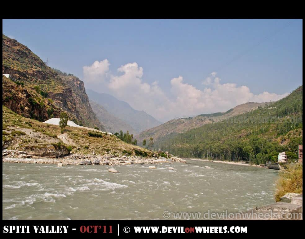 River Satluj near Rampur
