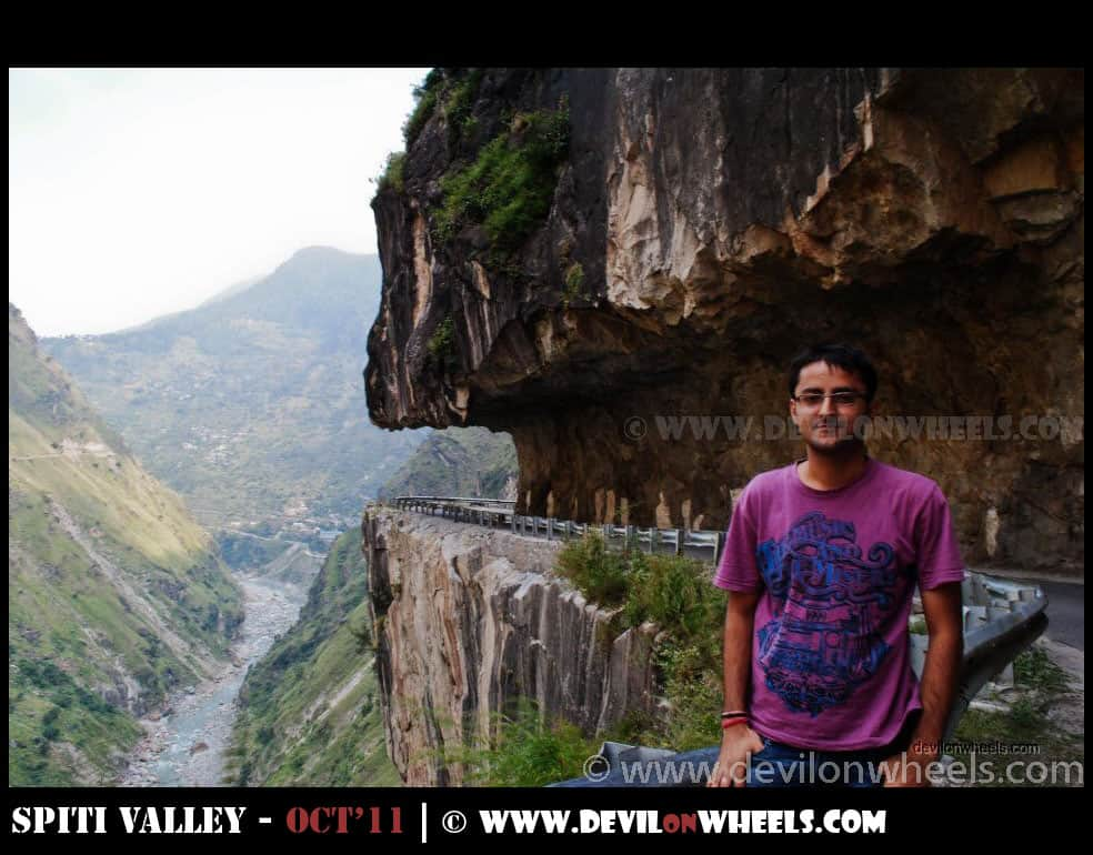 Dhruv at Hindustan Tibet Highway in Kinnaur Valley