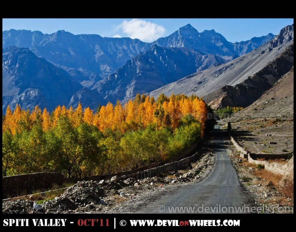 Spiti Valley | Most Common Itinerary