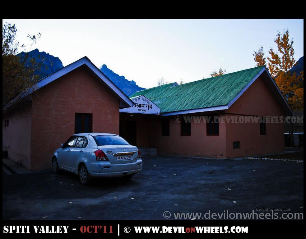 Sagnam PWD Rest House in Pin Valley