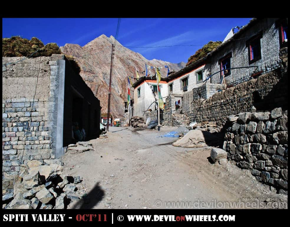 Streets of Mud Village in Pin Valley