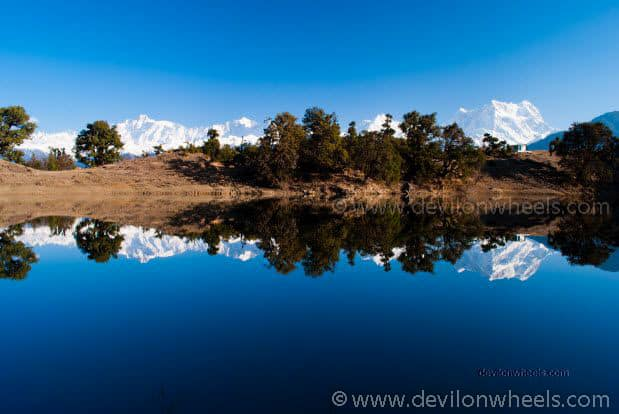 Reflections to die for in Deoriatal