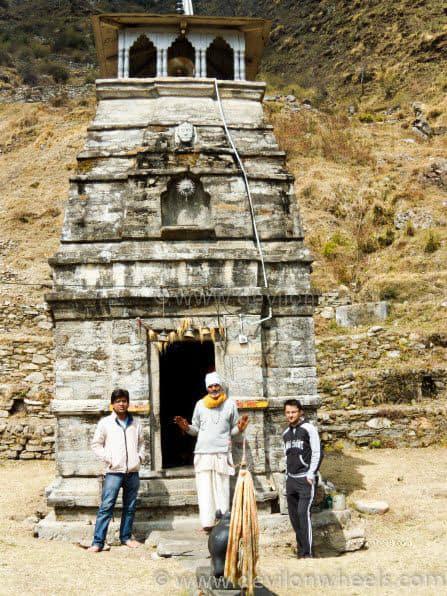 Local Temple at Sari Village