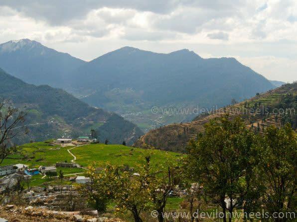 Views from Sari Village