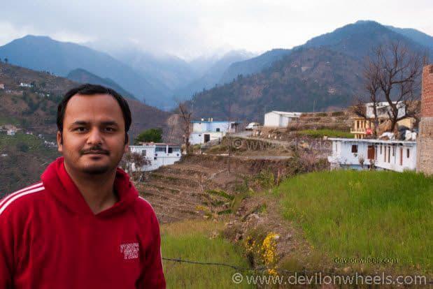 Dheeraj Sharma at Ukhimath