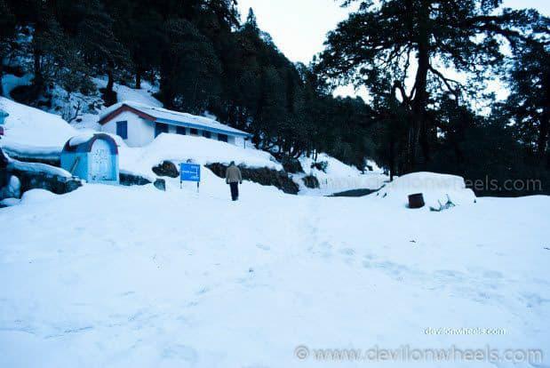 View from Chopta - Tungnath Snow Trek