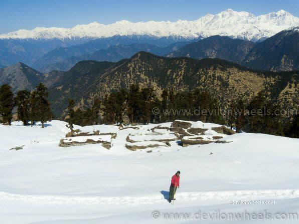 Dheeraj Sharma on Chopta - Tungnath Snow Trek
