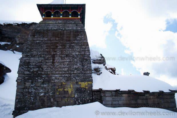 Tungnath Temple in Snow