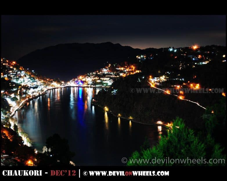 Nainital Lake at Night ... A Teaser...