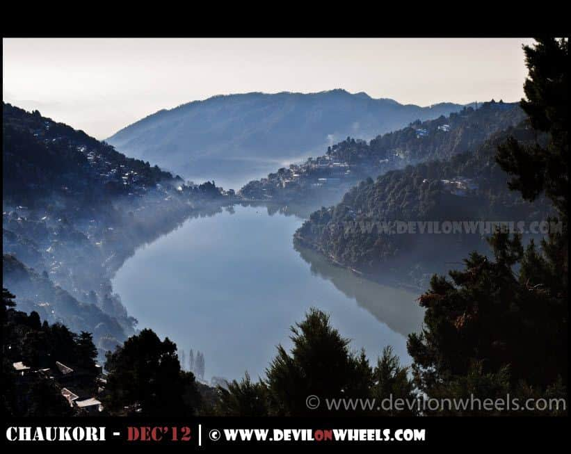 An early morning calmness at Nainital Lake