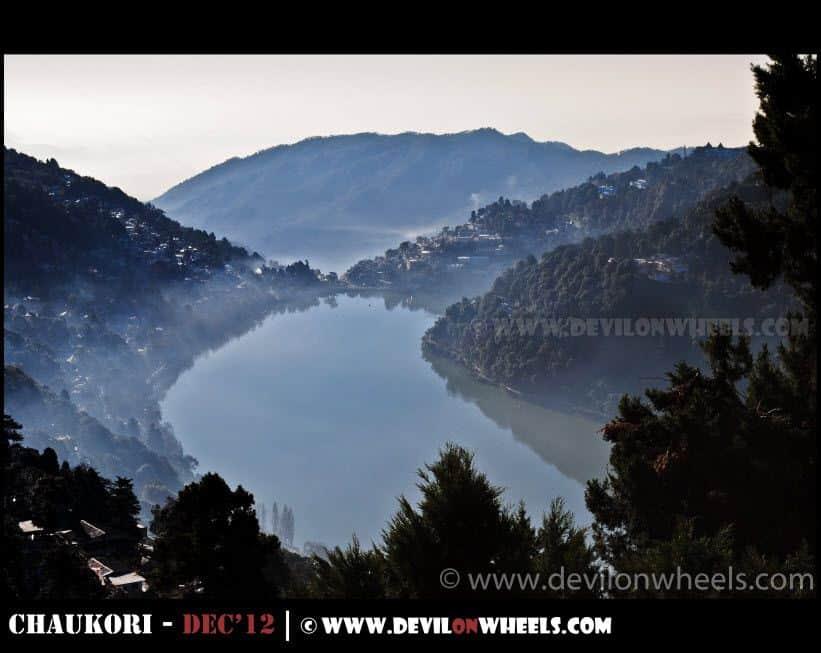 An early morning calmness at Nainital Lake