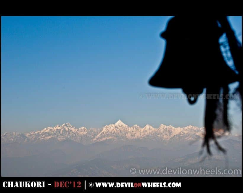 Panchulli Peaks as seen from Patal Bhuwaneshwar