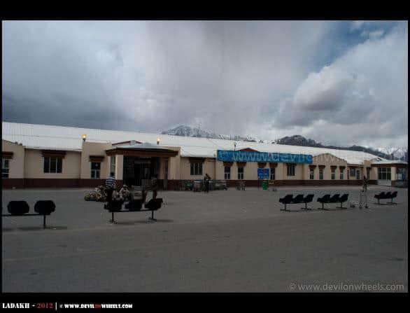 Kushok Bakula Rimpoche Airport at Leh...