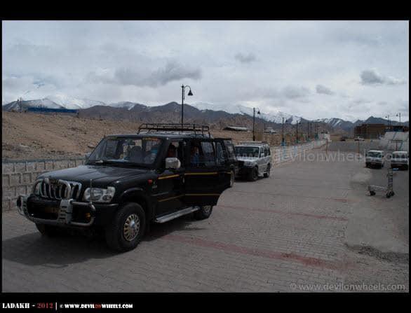 Our Machine for Ladakh 2012 Trip...