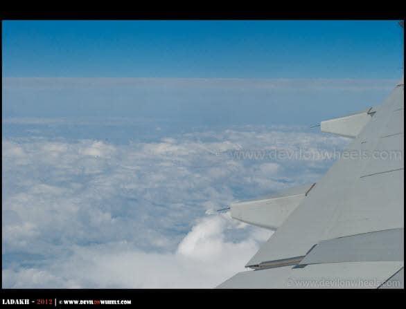 Views from Delhi - Leh Flight...