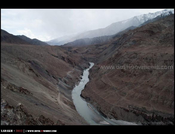 Sindhu Darshan... River Indus flowing through mighty Himalayas...