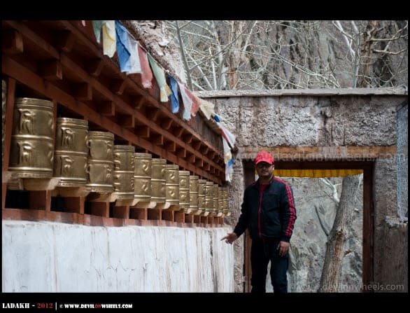 Prayer Wheels at Alchi...